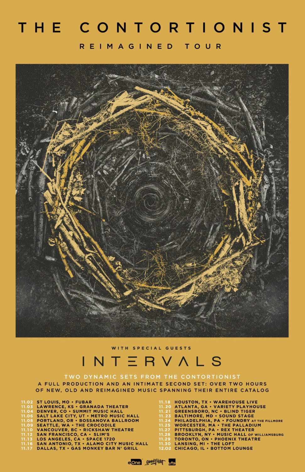 The Contortionist Announce Upcoming Tour W Intervals And Ep